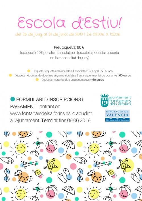 Agenda | Ajuntament Fontanars dels Alforins